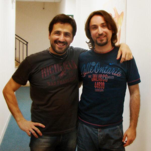 Andrea Perrotta e Daniele Giovannoni