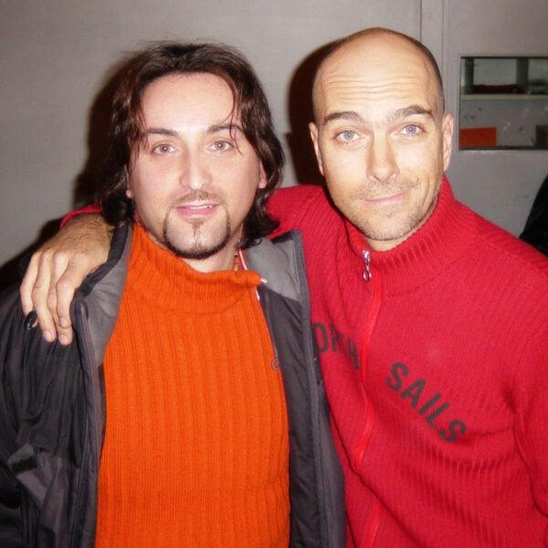 Andrea Perrotta e Christian Meyer