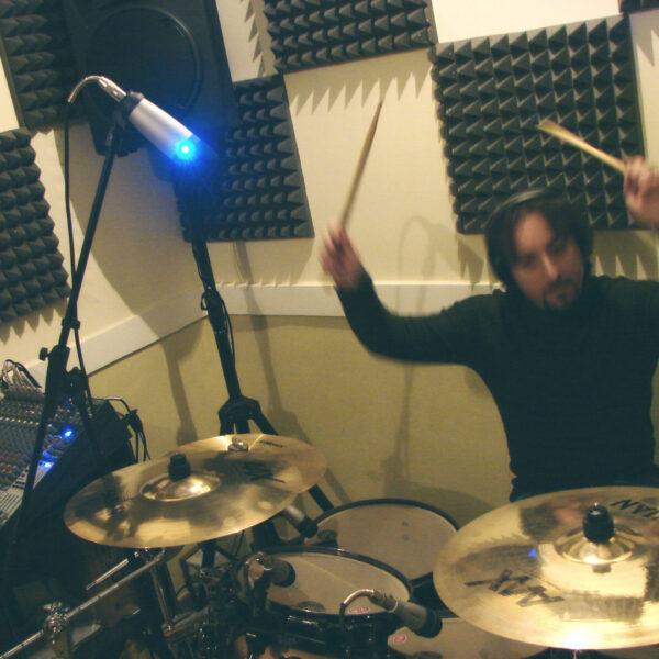 Perrotta's Basement Drum Recording