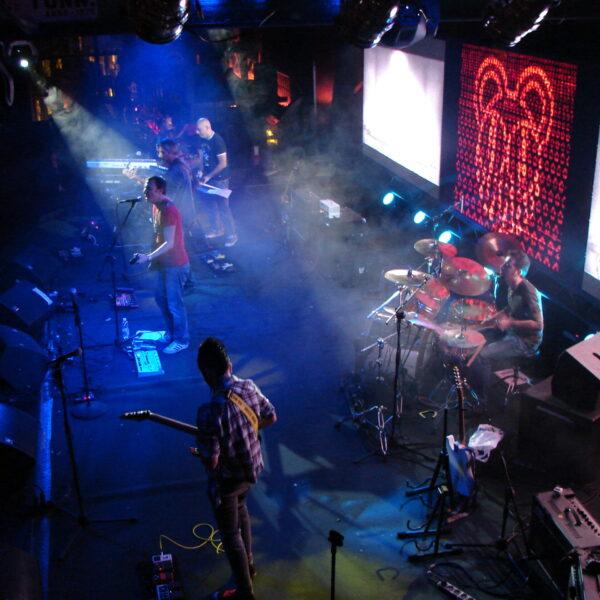 Andrea Live con Talpaconica, Radiohead cover band
